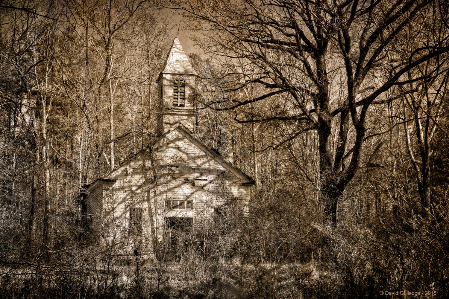 Church Abandoned (Hermanville MS)