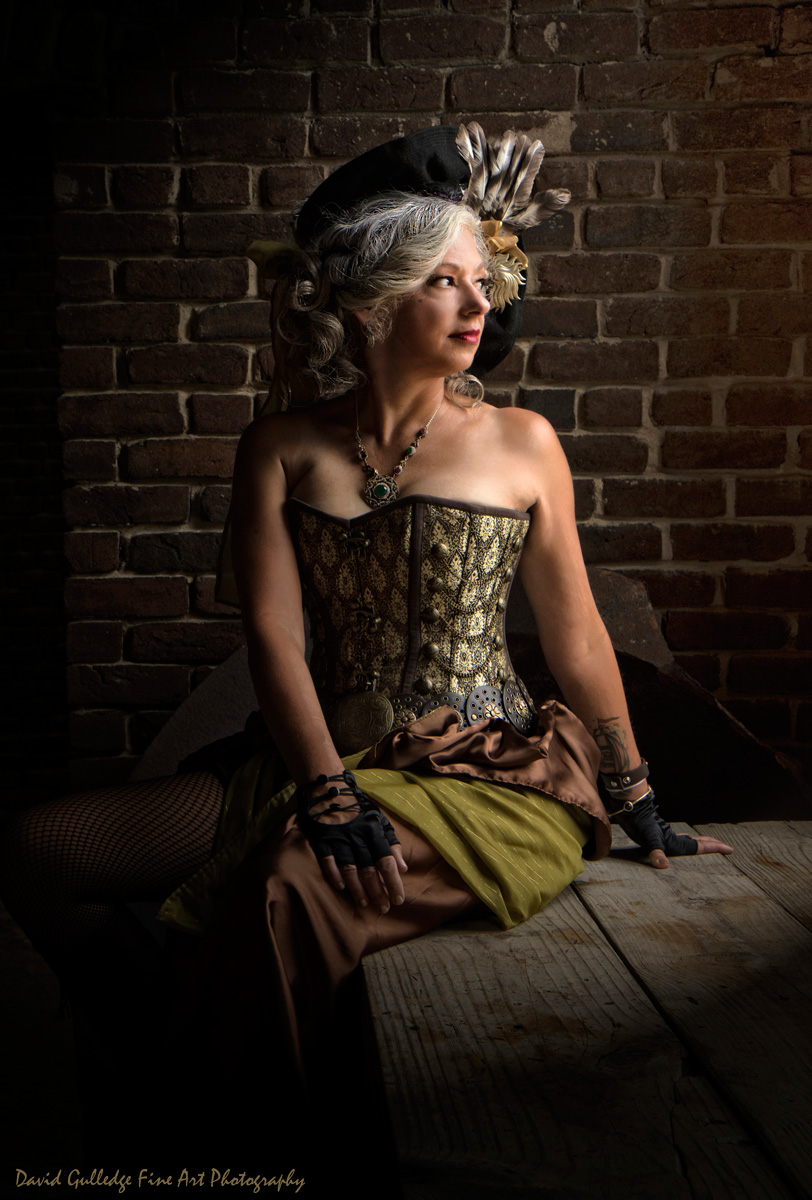 Marcia Dubois Martin - Steam Punk Fashion Photo Shoot